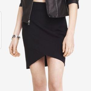 High Waisted Bandage Mini Skirt